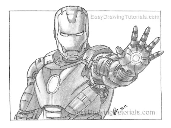 Iron Man 3 Sketch Giveaway