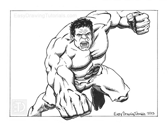 The Hulk Special Sketch