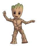 How to Draw Groot Baby Guardians of the Galaxy