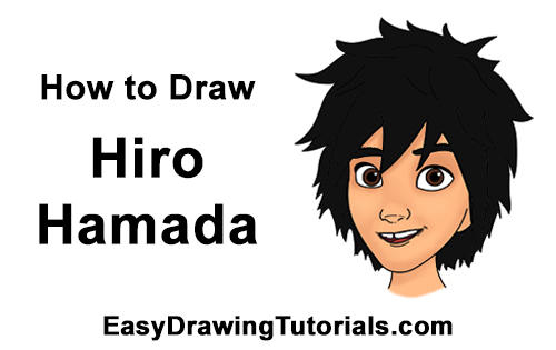 How to Draw Hiro