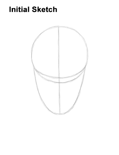 How to Draw Fortnite Ikonik Skin Guide Lines