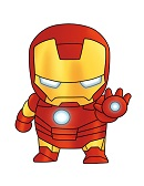How to Draw Iron Man Mini Chibi