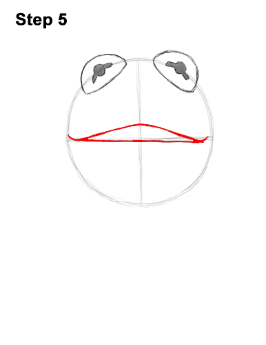How to Draw Kermit the Frog Muppet 5