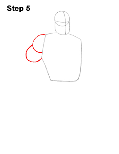 How to Draw Mr. Incredible Bob Parr 5