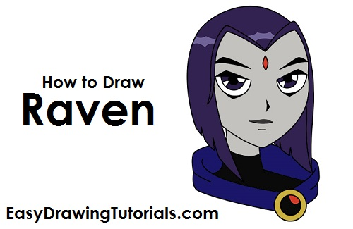 How to Draw Raven