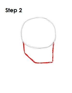 Draw Superman Step 2