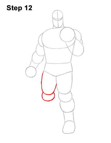 How to Draw Thanos Marvel Avengers Full Body 12