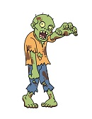 How to Draw Zombie Undead Walking Funny Living Dead